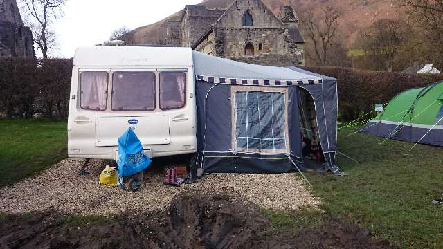Luxury  Berth 1980 Second Hand Touring Caravan For Sale In Leicestershire